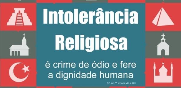 Denúncias de intolerância religiosa crescem 3.706% nos últimos 5 anos - Reprodução