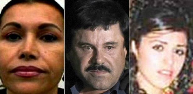 Alejandrina Salazar e Emma Coronel, primeira e última mulheres de 'El Chapo'