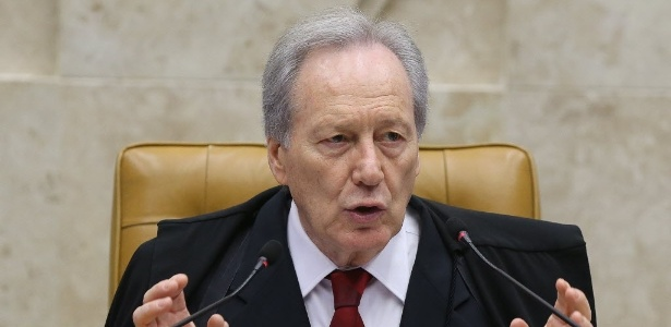 O presidente do STF, Ricardo Lewandowski