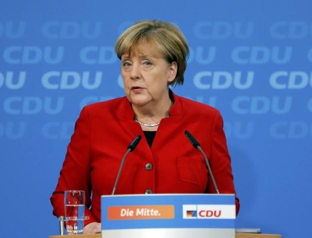 20.nov.2016 - Angela Merkel anuncia que vai concorrer ao quarto mandato como chanceler da Alemanha