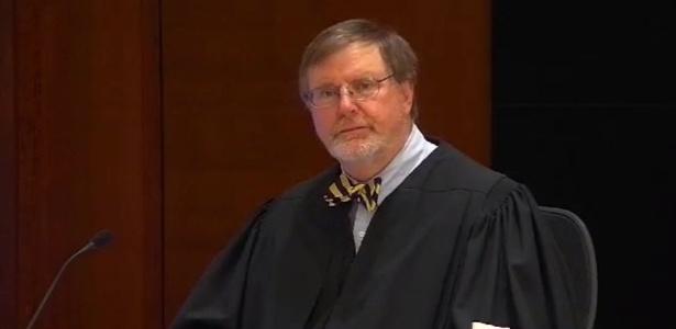 O juiz de Seattle James L. Robart durante audiência que suspendeu temporariamente o decreto de Trump