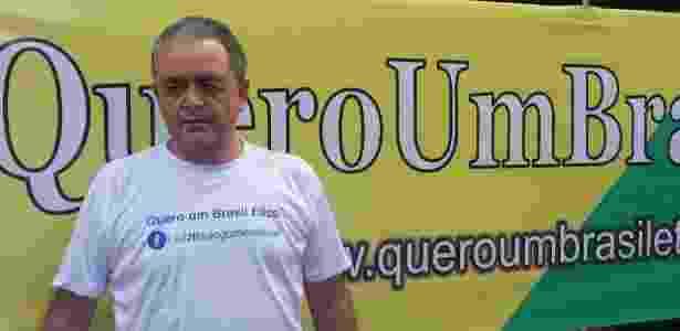 O advogado Luiz Flávio Gomes, 59, que criou seu grupo para protestar - Nivaldo Souza/UOL