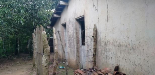 Mulher foi mantida pelo irmão em um cômodo de 3x3 metros em Uruburetama - Divulgação/Polícia Civil do Ceará