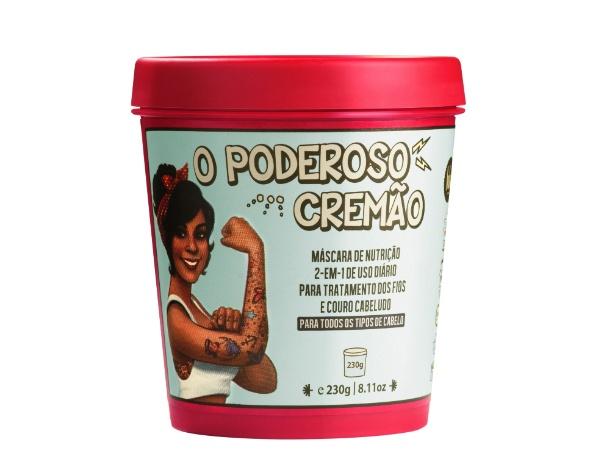 """A máscara de nutrição capilar """"O Poderoso Cremão"""" é um dos produtos da empresa Lola Cosmetics, da empresária Dione Vasconcellos"""