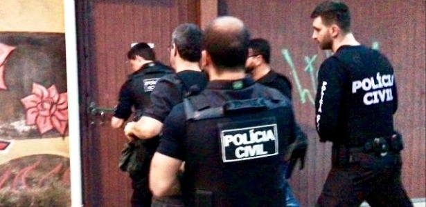 Policiais civis realizaram nesta quarta-feira (25) a Operação Érebo - Divulgação/Polícia Civil
