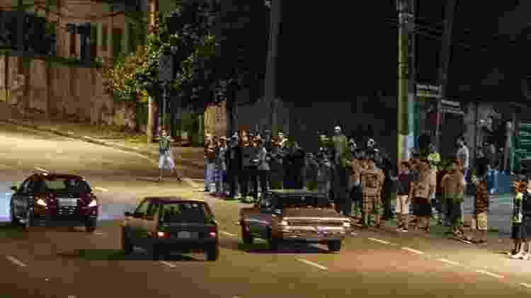 5 Racha na marginal Pinheiros, em São Paulo  - 21.mar.2014 - Eduardo Anizelli/Folhapress - 21.mar.2014 - Eduardo Anizelli/Folhapress