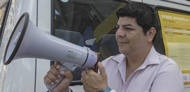 Apelo à vacinação contra febre amarela em SP usa até megafone