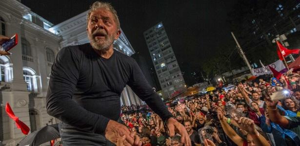 Lula encerrou sua caravana pelo Sul do país em um ato realizado em Curitiba em março