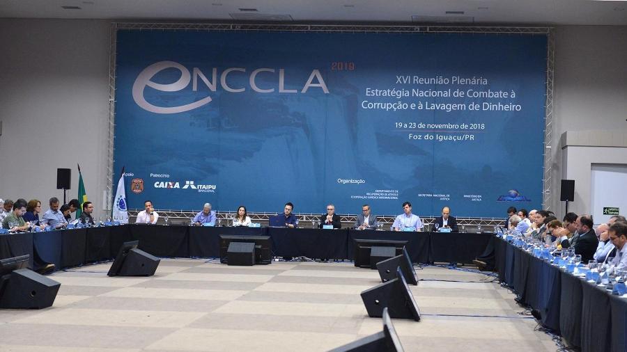 Reunião da Enccla em Foz do Iguaçu sugere até 70 diretrizes anticorrupção - Isaac Amorim 22.nov.2018/Ministério da Justiça