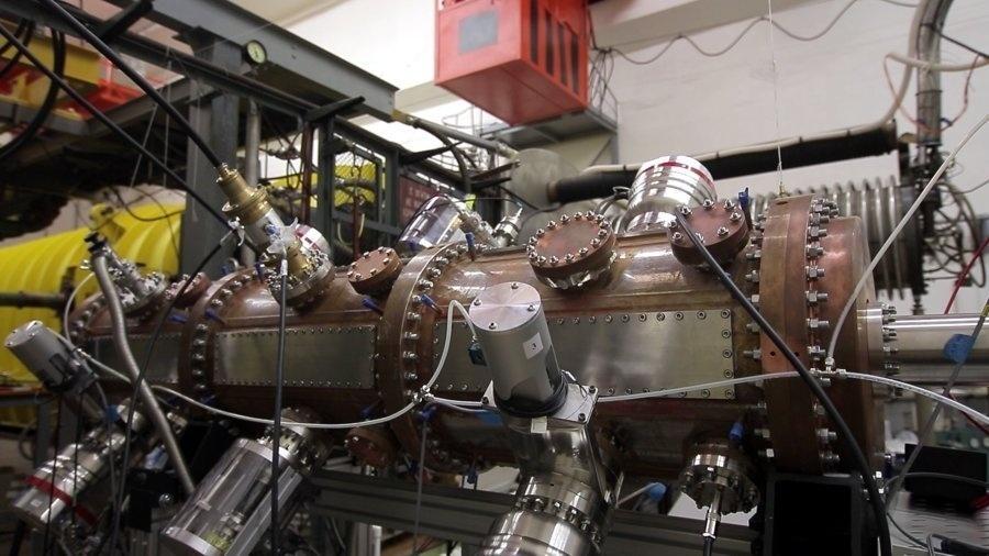 Acelerador de íons do Nica - Nica