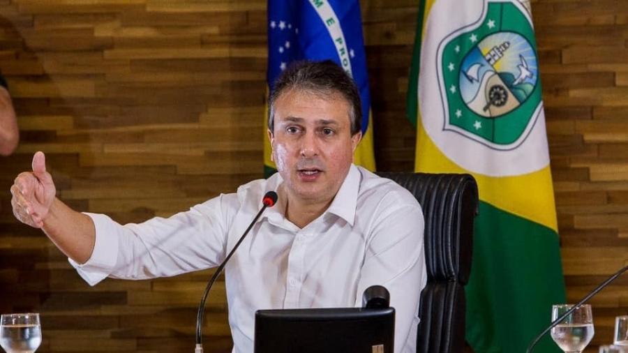 Camilo Santana anunciou ação no STF nesta segunda-feira - Divulgação/Facebook Camilo Santana