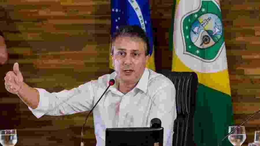 O governador do Ceará, Camilo Santana, durante reunião de balanço das ações de 2018 - Divulgação -26.dez.2018/Facebook Camilo Santana