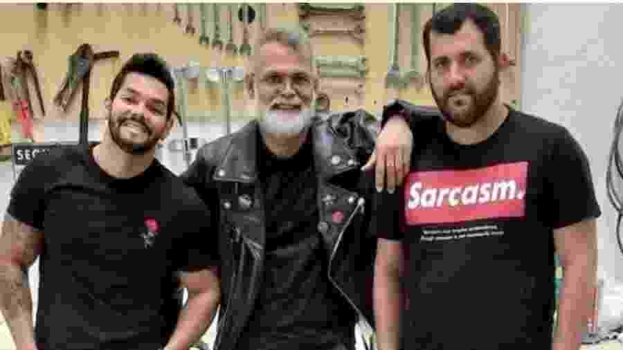 Wagner Figueiredo, Odair Sinkunas e Julio Sinkunas - Foto: Arquivo Pessoal