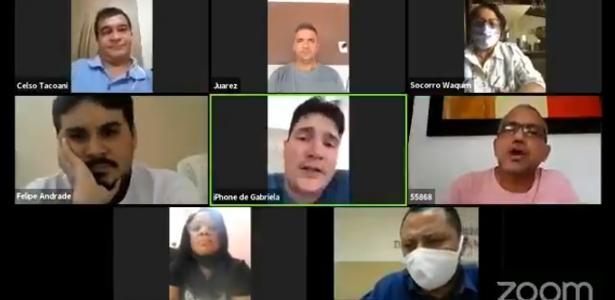 Sessão de vereadores no MA por vídeo termina em bate-boca e ofensas