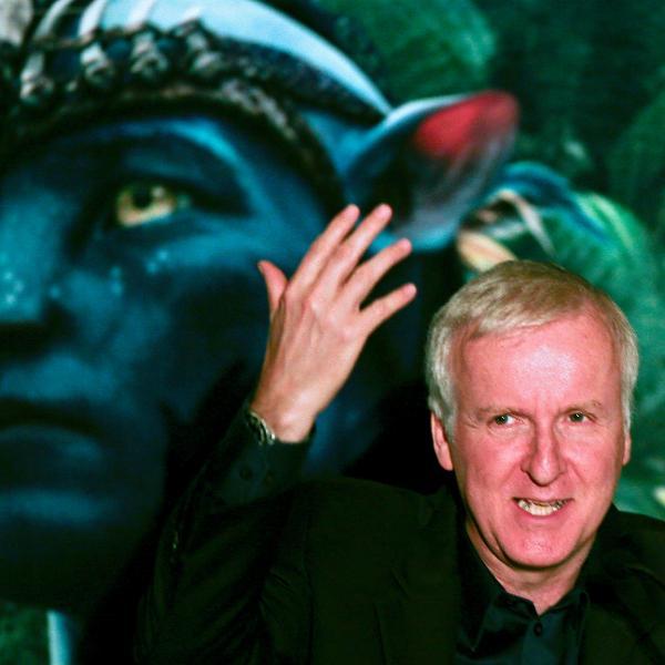 """James Cameron durante lançamento de """"Avatar"""" em São Paulo"""