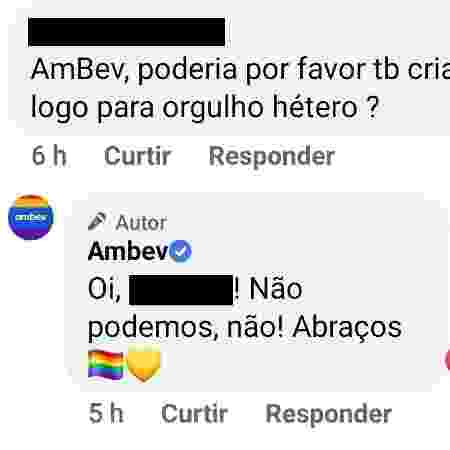 AmBev - Reprodução/Facebook - Reprodução/Facebook