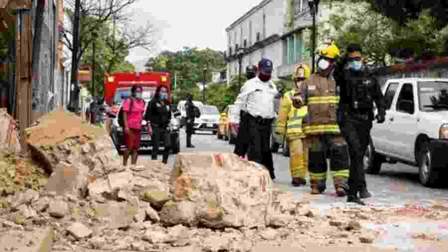 As autoridades consideram que os danos não foram grandes do tremor de terça (23) - EPA