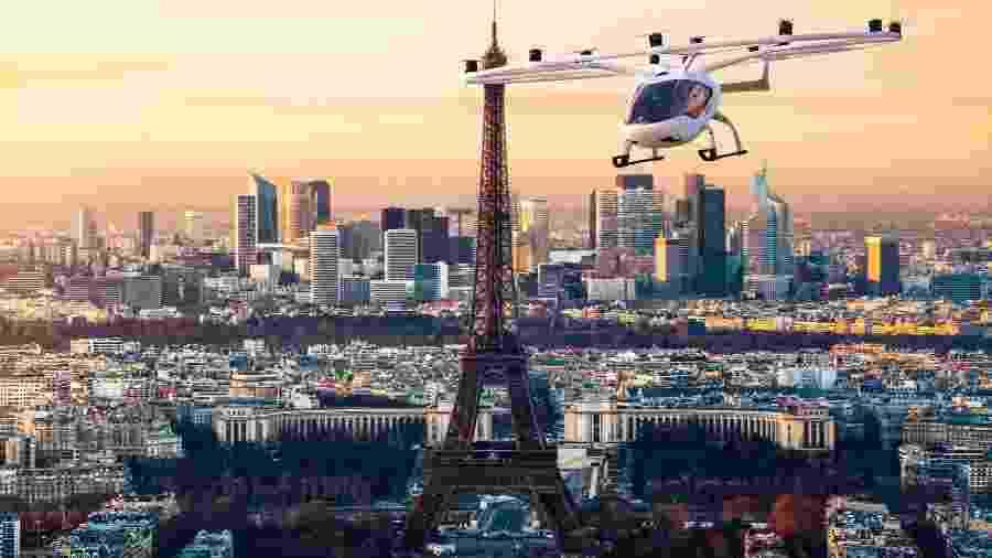 VoloCity se assemelha a helicóptero e funcionará de forma elétrica - Reprodução