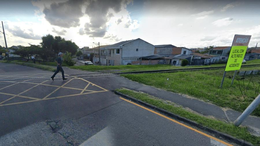 Choque aconteceu em local com alto índice de acidentes - Reprodução/ Google Maps