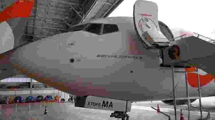 Boeing 737 Max 8 - Vinícius Casagrande/UOL - Vinícius Casagrande/UOL