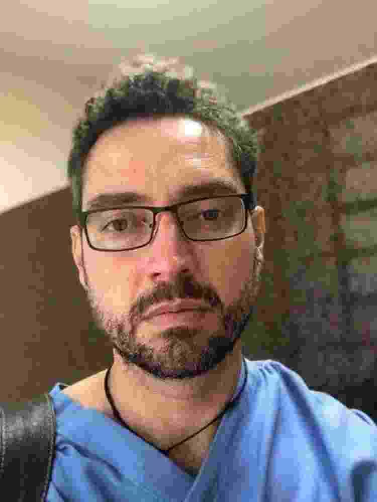 O médico paliativista Douglas Crispim também atuou na enfermaria do HC - ARQUIVO PESSOAL - ARQUIVO PESSOAL