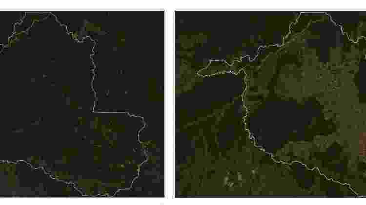 Imagens de satélite mostram avanço do desmatamento em Rondônia - BBC - BBC