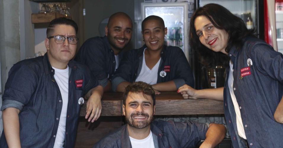 Castro Burger é uma hamburgueria gay de São Paulo que emprega LGBTs