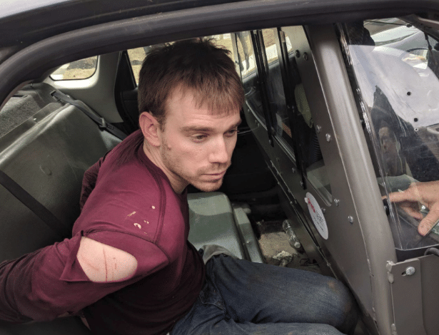 Polícia de Nashville prende o atirador Travis Reinking na segunda-feira (23) - Metro Nashville PD