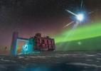 Astrônomos identificam origem de partícula que pode ajudar a contar a história do Universo (Foto: IceCube/NSF)