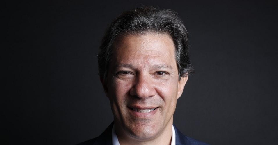 Fernando Haddad, candidato do PT à Presidência