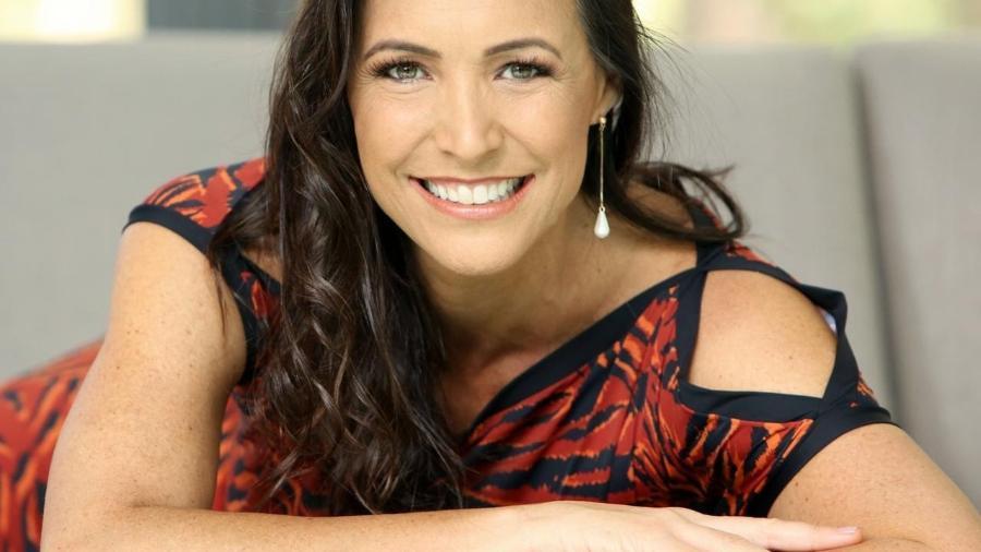 A ex-nadadora Fabíola Molina, que identificou um potencial de negócios e criou sua própria marca de maiôs  - Divulgação