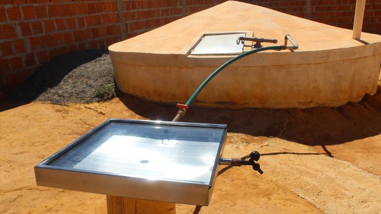 O dispositivo usa a radiação do sol para matar bactérias - Arquivo pessoal