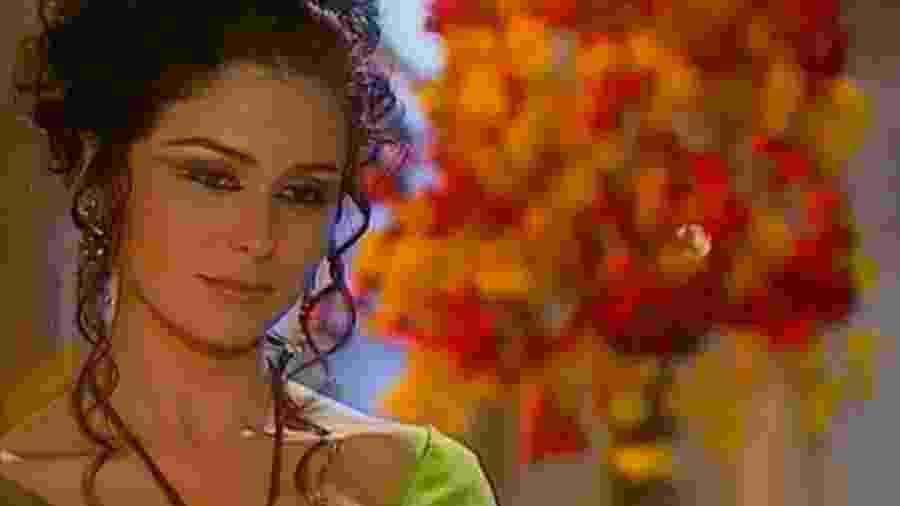 Giovanna Antonelli como a protagonista Jade, em O Clone (2001) - Reprodução/TV Globo