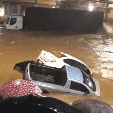 Cidade de Iconha fica sob água - Reprodução/Twitter