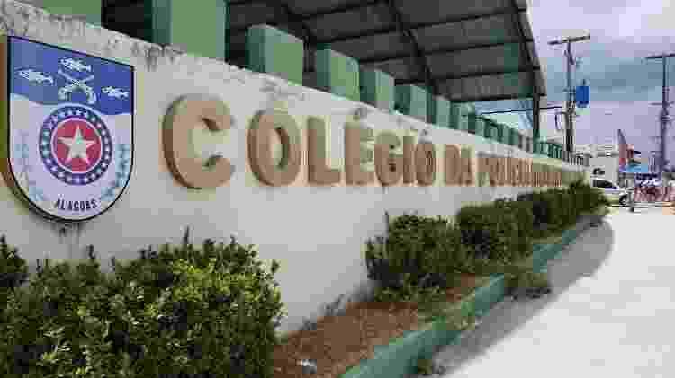 4.fev.2020 - Fachada de colégio da Polícia Militar em Maceió - Carlos Madeiro/Colaboração para o UOL - Carlos Madeiro/Colaboração para o UOL