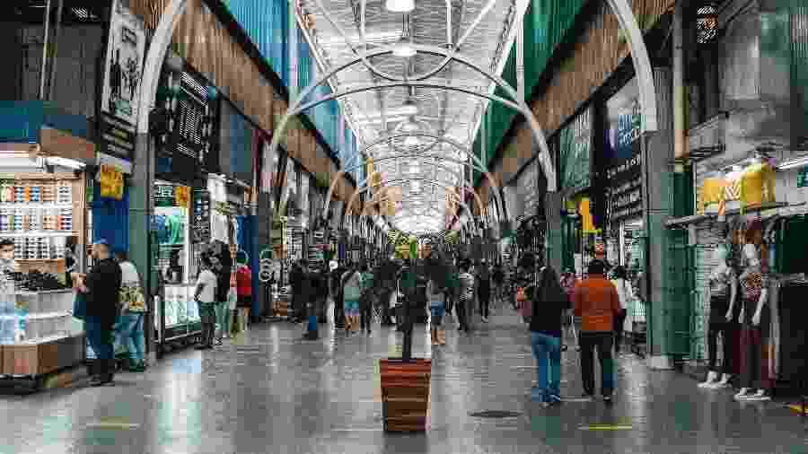 17.jun.2020 - Vista geral da Feira dos Importados, área de comércio popular em Brasília - RICARDO JAYME/AGIF - AGÊNCIA DE FOTOGRAFIA/ESTADÃO CONTEÚDO