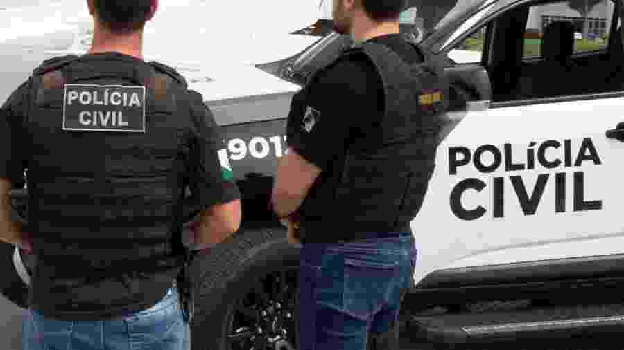 Homem detido em Maringá tinha várias passagens policiais por estelionato - Fábio Dias/Polícia Civil do Paraná