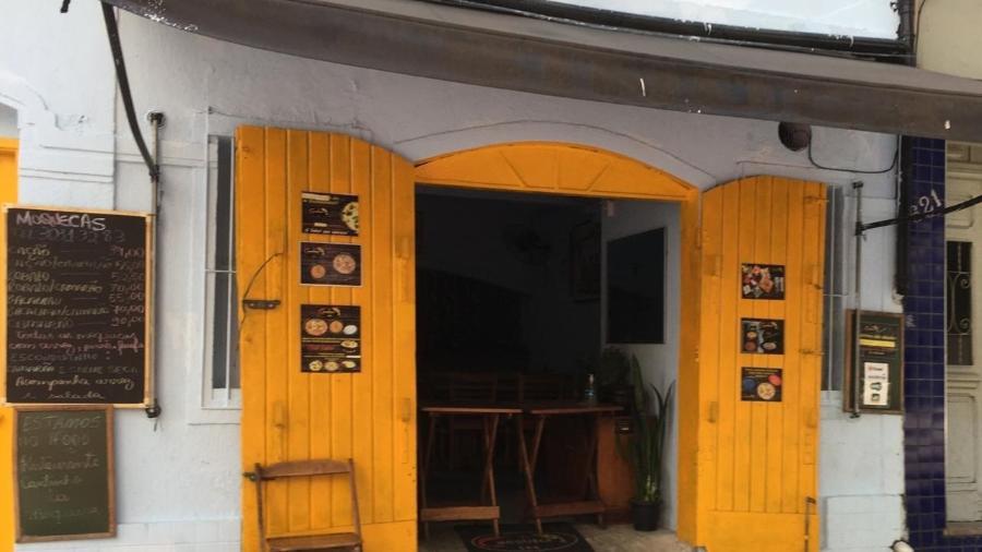 Bar na Vila Madalena funciona em sistema de delivery - Gabriel Toueg/UOL