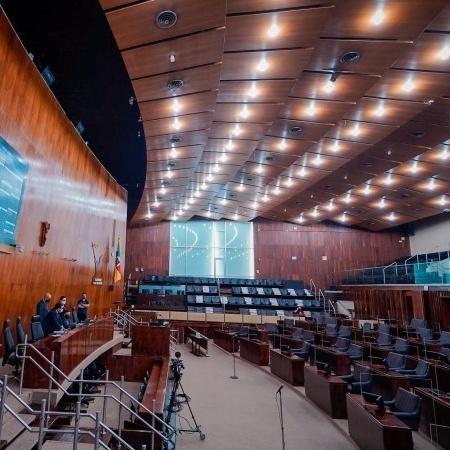 A votação do auxílio emergencial ocorreu em sessão virtual  - Joel Vargas/ALRS