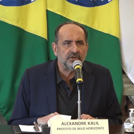 Prefeito de Belo Horizonte, Alexandre Kalil (PSD) - Reprodução/Redes Sociais