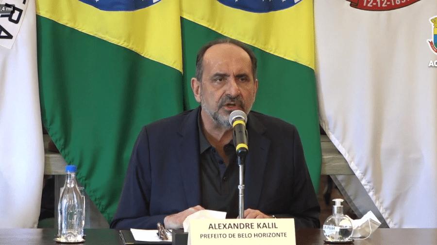 Prefeito de BH, Alexandre Kalil - Reprodução/Redes Sociais