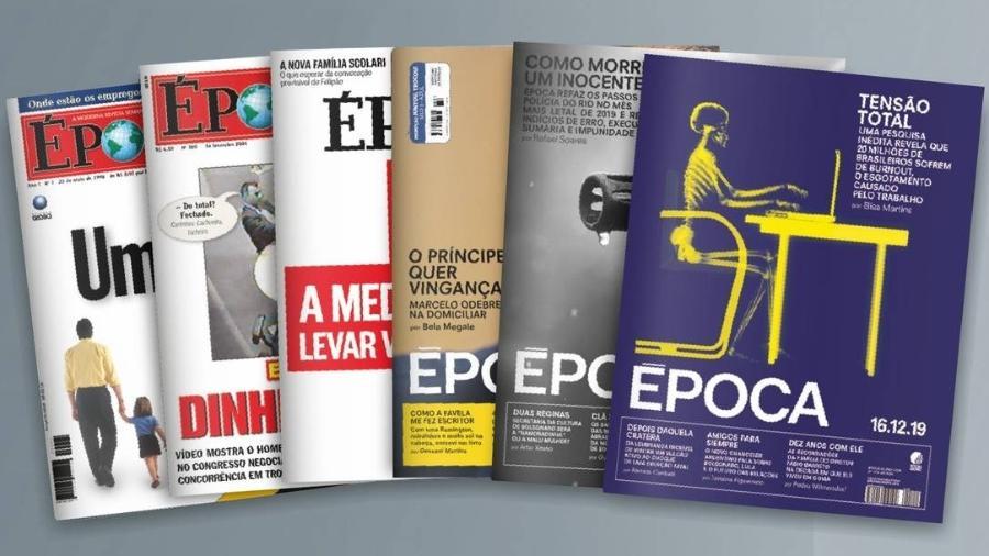 Revista Época deixa de circular e fará parte do jornal O Globo - Divulgação/Grupo Globo