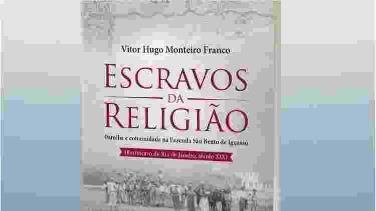 """O historiador Vitor Hugo Monteiro Franco revira arquivos da Ordem de São Bento desde 2014 - foi assim que encontrou o termo """"escravos da religião"""" - Reprodução - Reprodução"""