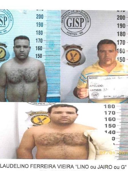 Laudelino Ferreira Vieira, 43, o Lino, apontado como o mentor intelectual do roubo de três aviões do Aeroclube de Aquidauana - Reprodução/SSP-MS