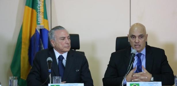 Deputados de PSOL e PT acionaram a PGR contra a indicação de Moraes (d)