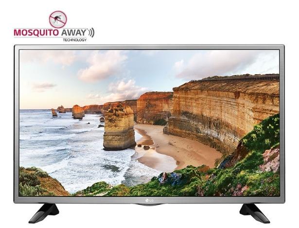 TV da LG com a tecnologia Mosquito Away, vendida na Índia