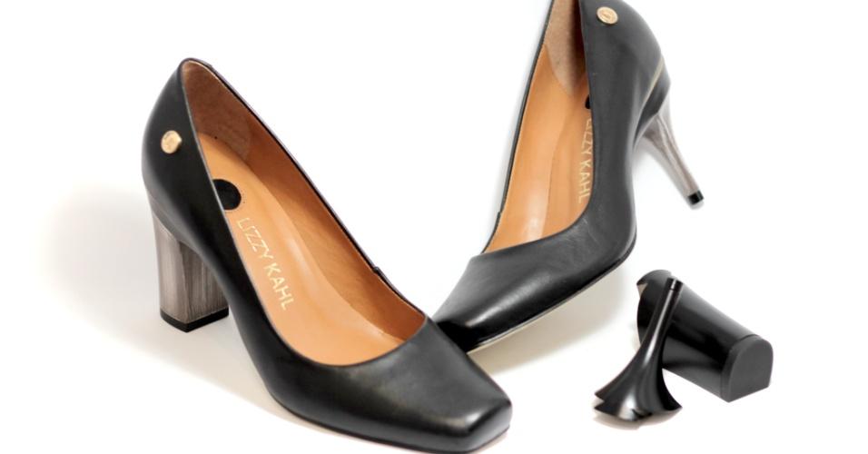 Lizzy Kahl, marca de sapatos que trocam de salto