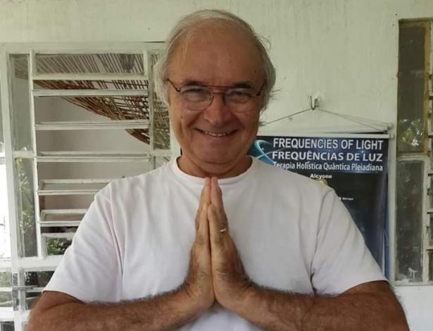O terapeuta Eduardo Chianca Rocha, 67, condenado na Rússia por tráfico
