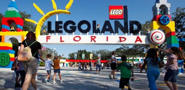 Entrada da Legoland da Flórida
