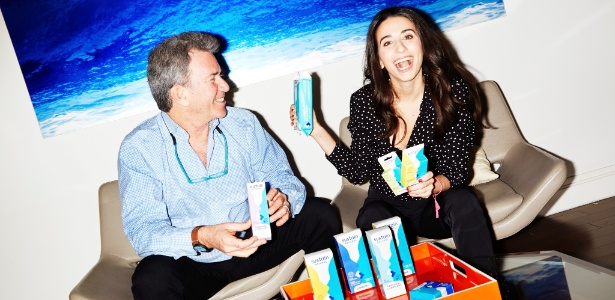 Jeffrey e Meika Hollender, fundadores da Sustain Natural - Amy Lombard/The New York Times